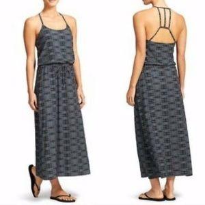 Athleta Ariel Novella Back Cutout Maxi Dress.